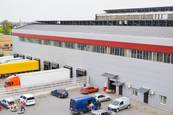 Construction of a logistics terminal